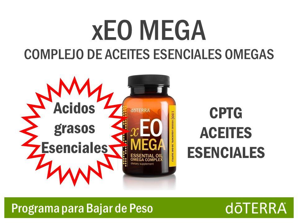 xEO MEGA Acidos grasos Esenciales CPTG ACEITES ESENCIALES