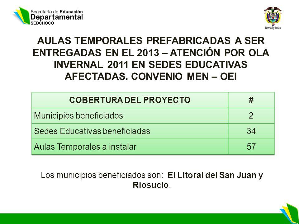 COBERTURA DEL PROYECTO