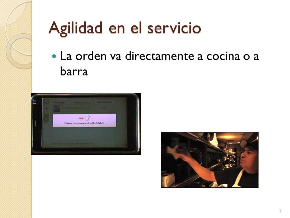 Agilidad en el servicio