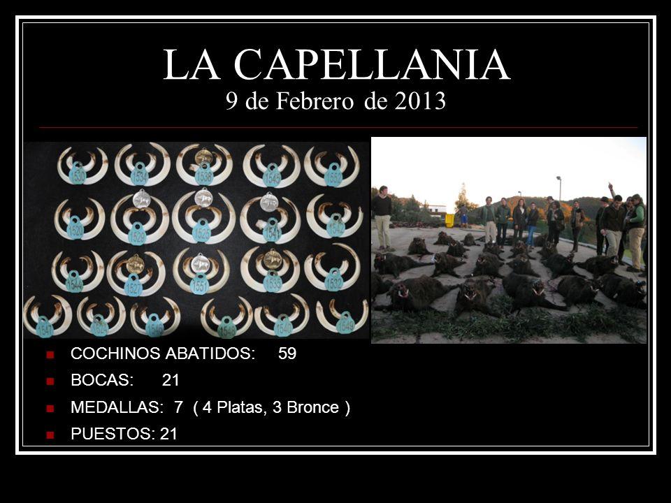 LA CAPELLANIA 9 de Febrero de 2013