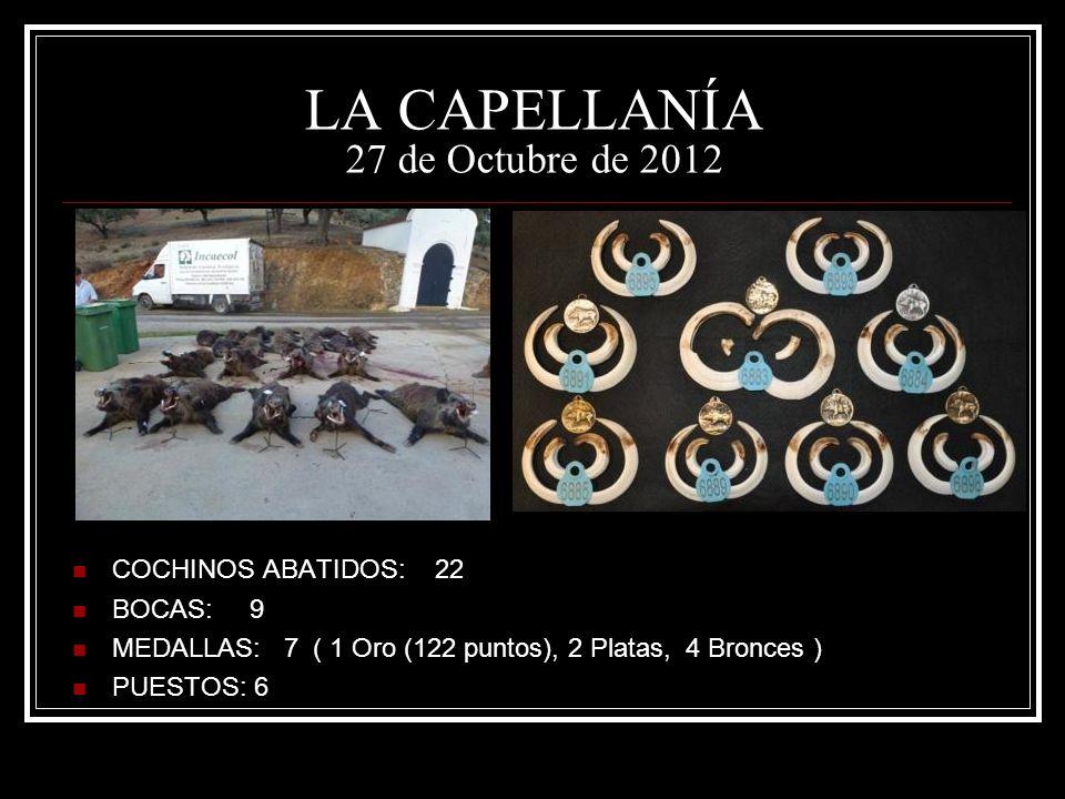 LA CAPELLANÍA 27 de Octubre de 2012