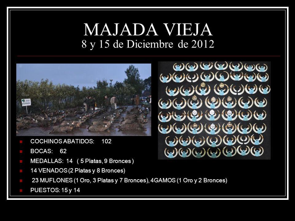 MAJADA VIEJA 8 y 15 de Diciembre de 2012