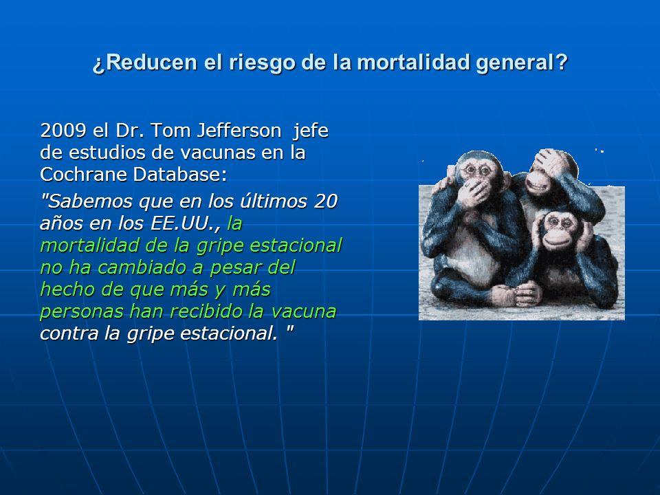 ¿Reducen el riesgo de la mortalidad general
