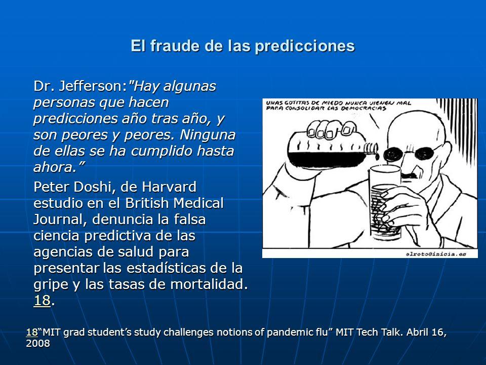 El fraude de las predicciones