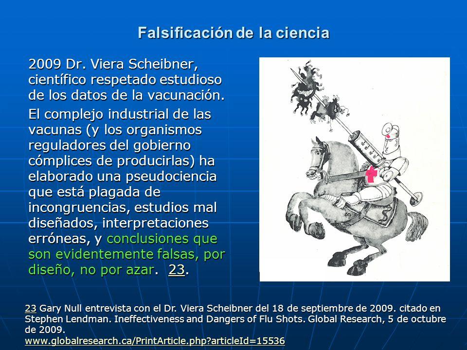 Falsificación de la ciencia