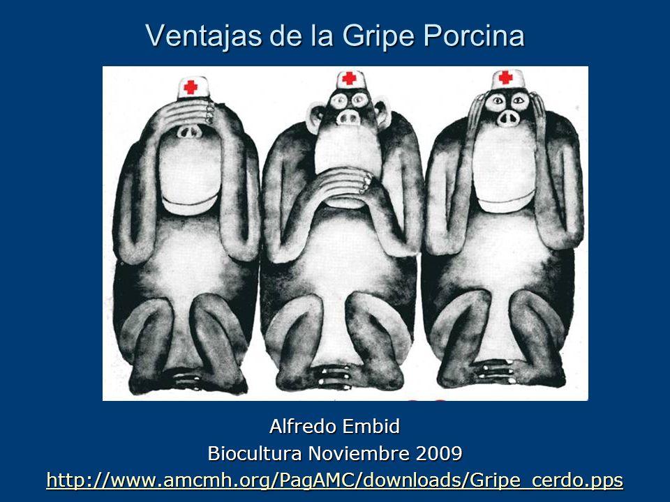 Ventajas de la Gripe Porcina