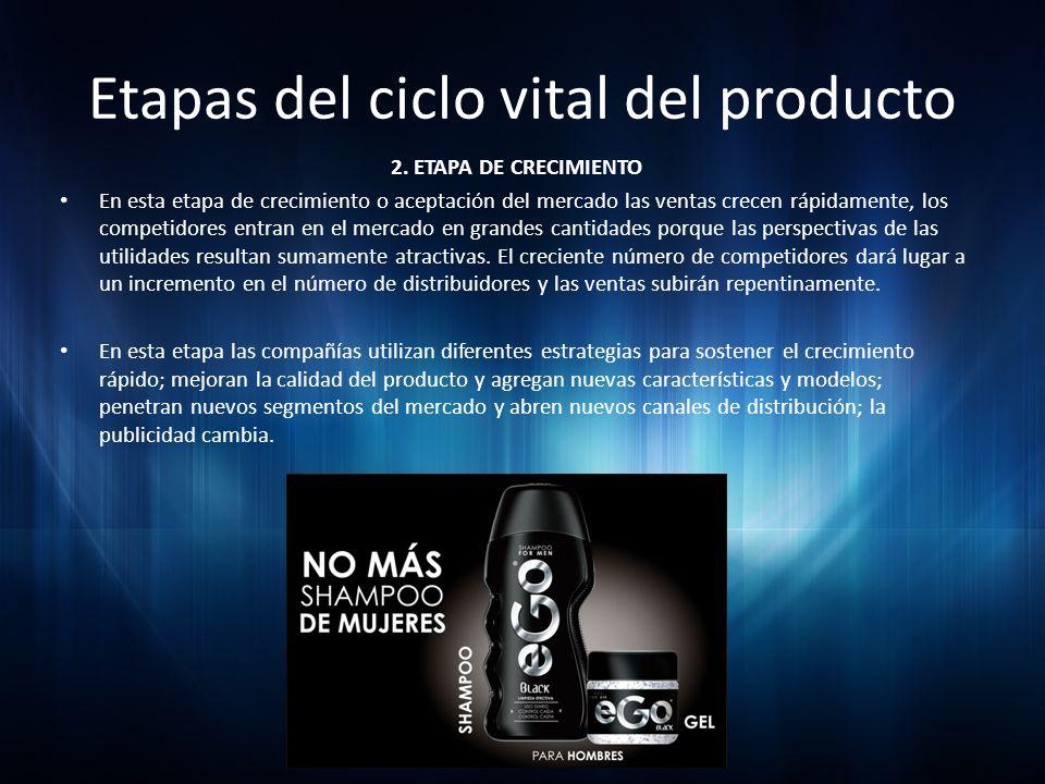 Etapas del ciclo vital del producto