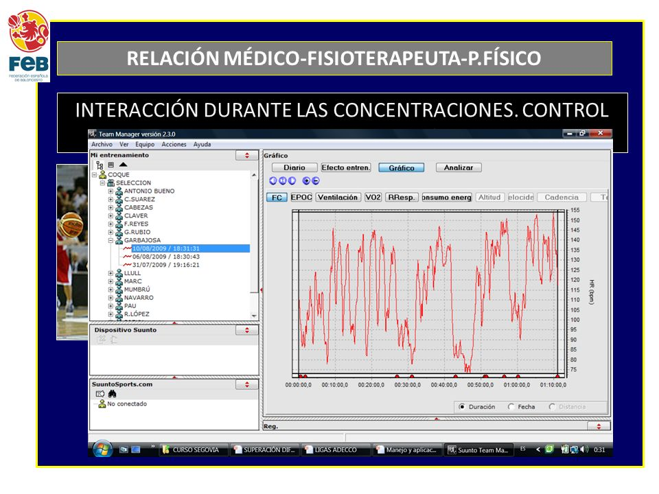 RELACIÓN MÉDICO-FISIOTERAPEUTA-P.FÍSICO