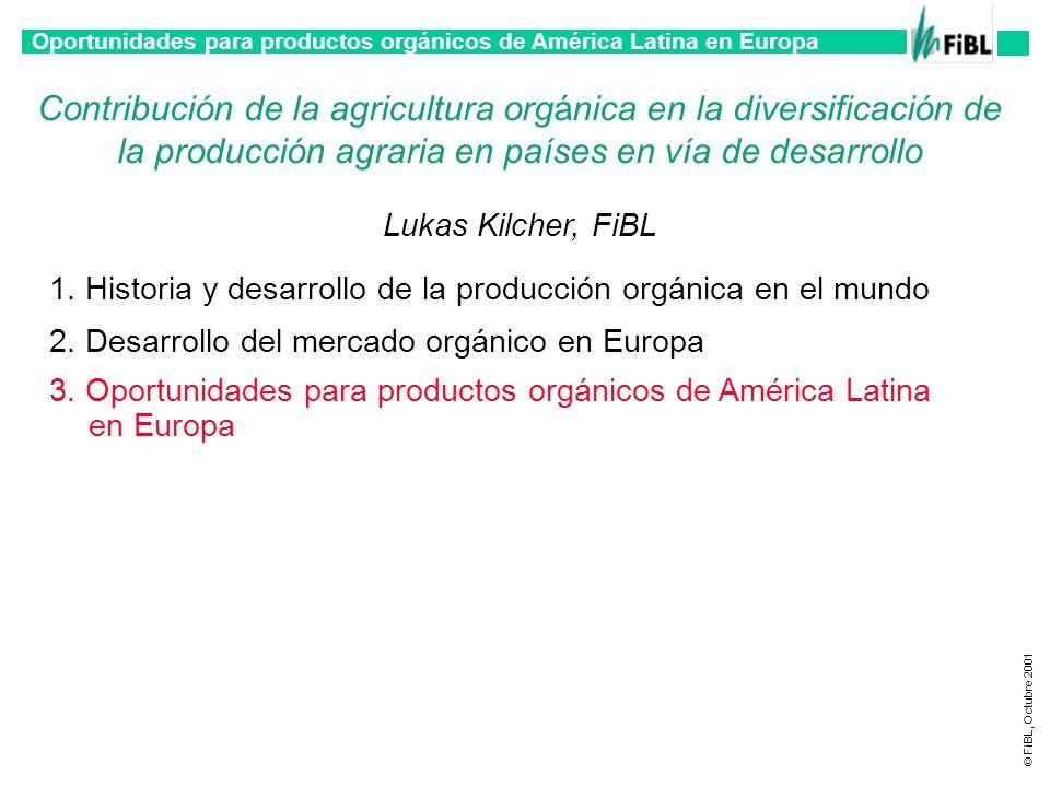 Contribución de la agricultura orgánica en la diversificación de la producción agraria en países en vía de desarrollo