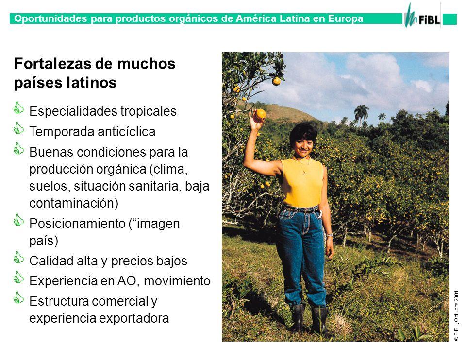 Fortalezas de muchos países latinos