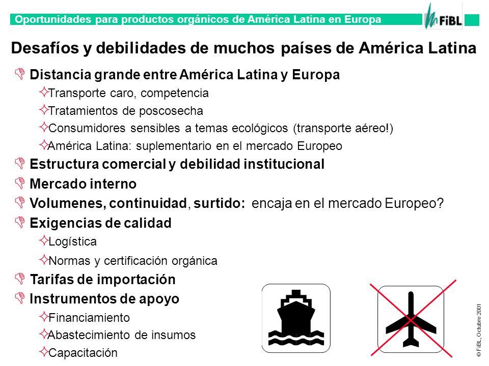 Desafíos y debilidades de muchos países de América Latina