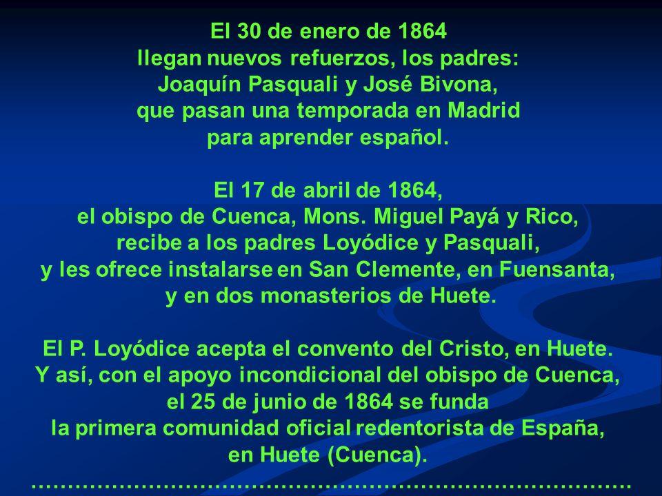 llegan nuevos refuerzos, los padres: Joaquín Pasquali y José Bivona,
