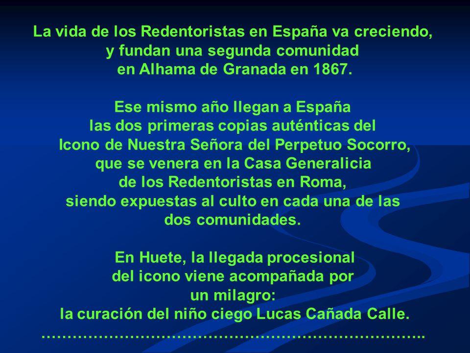La vida de los Redentoristas en España va creciendo,