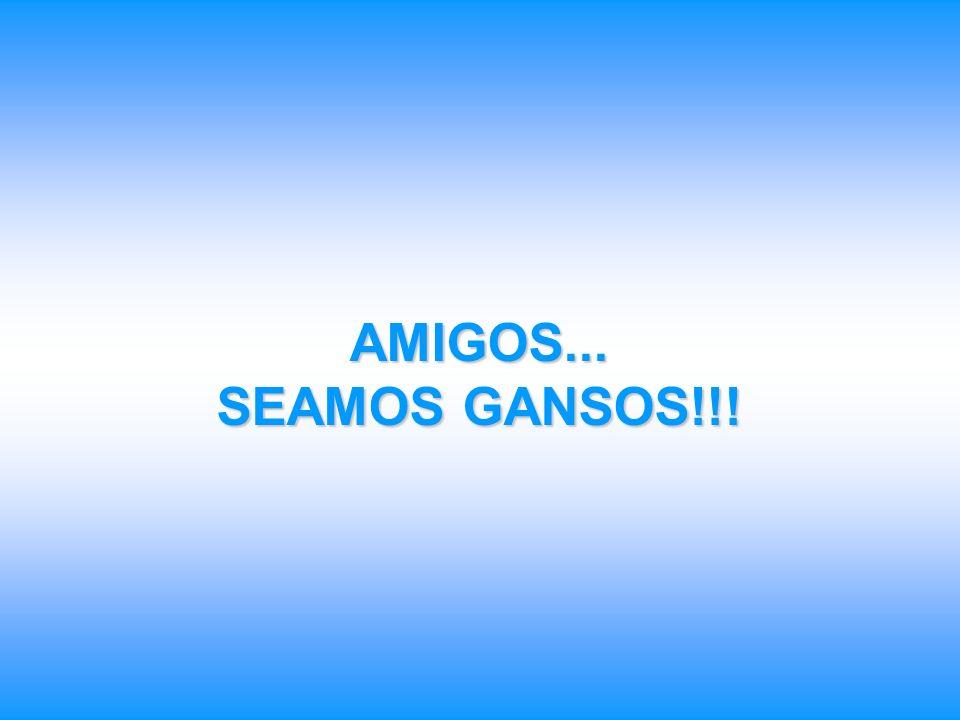 AMIGOS... SEAMOS GANSOS!!!
