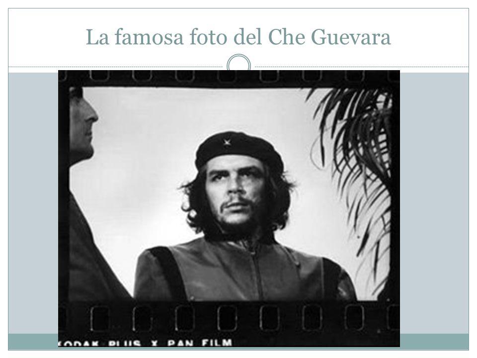 La famosa foto del Che Guevara