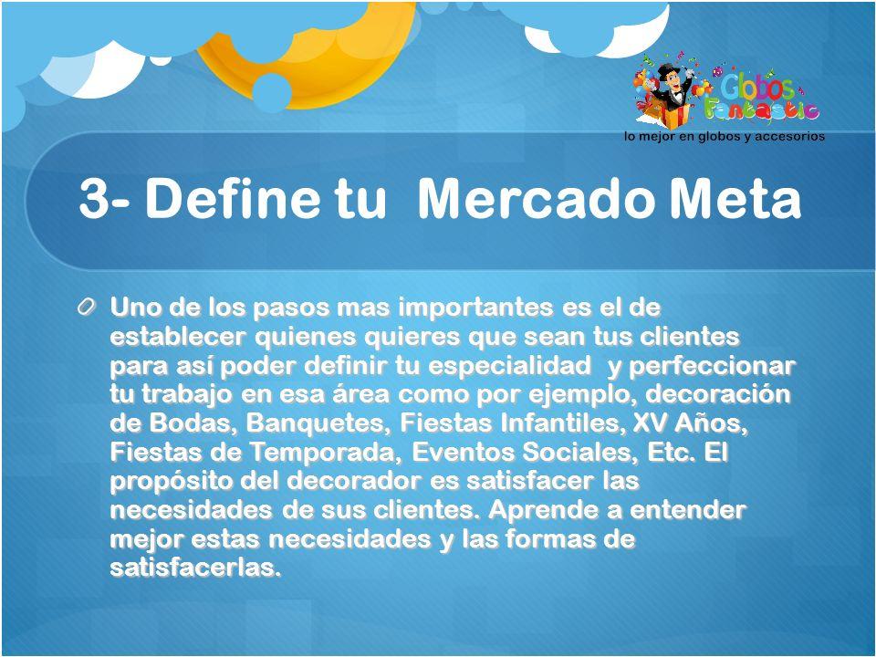 3- Define tu Mercado Meta