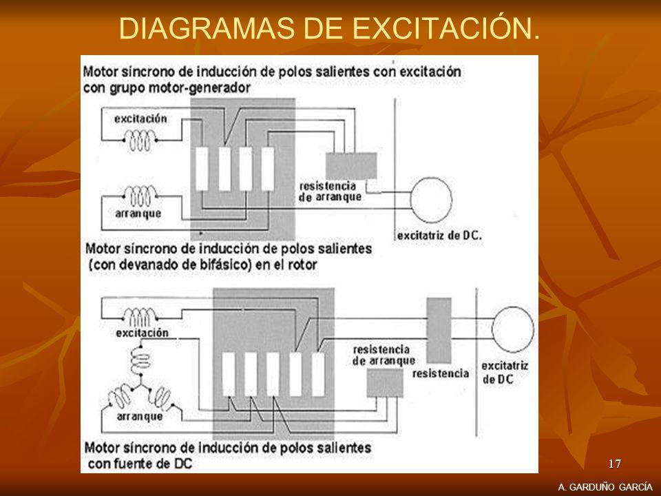 DIAGRAMAS DE EXCITACIÓN.