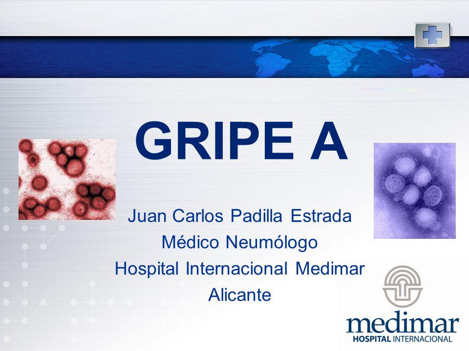 Gripe a Juan Carlos Padilla Estrada Médico Neumólogo
