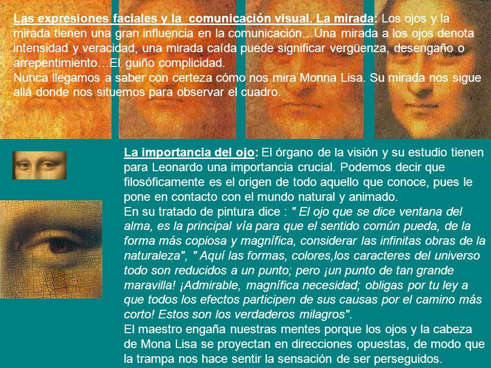 Las expresiones faciales y la comunicación visual