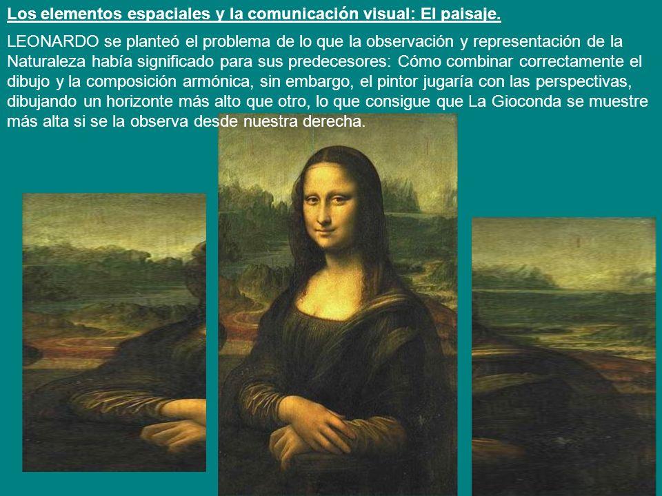 Los elementos espaciales y la comunicación visual: El paisaje.