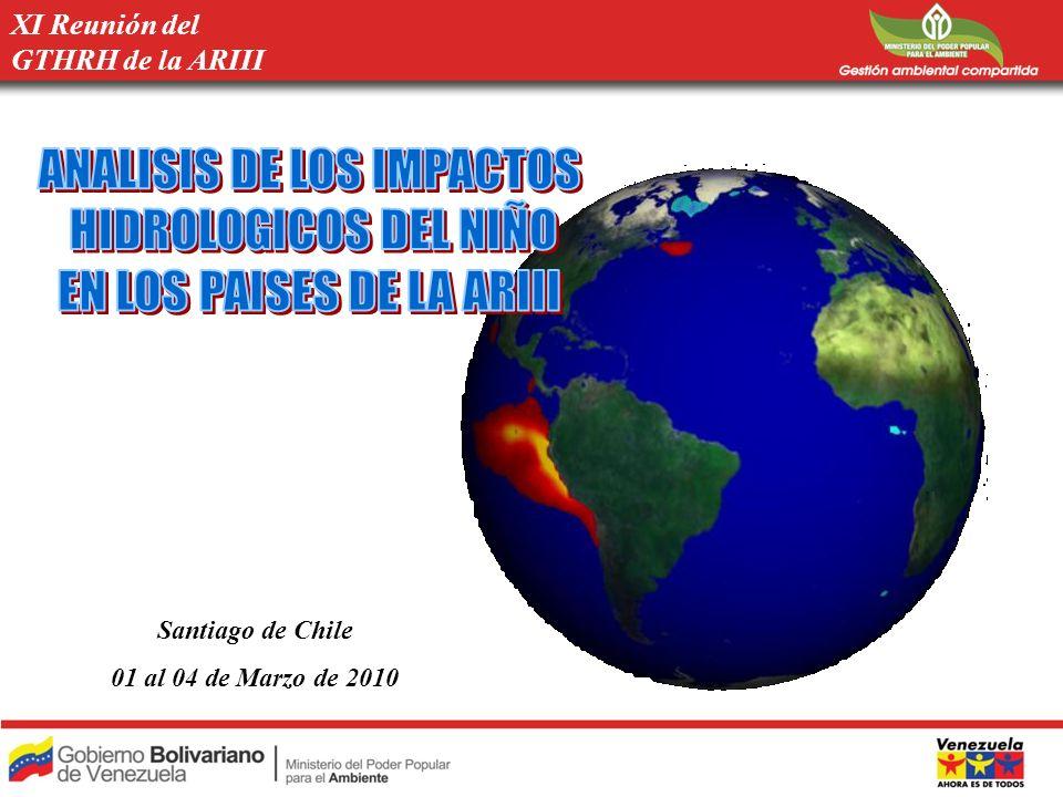 ANALISIS DE LOS IMPACTOS HIDROLOGICOS DEL NIÑO