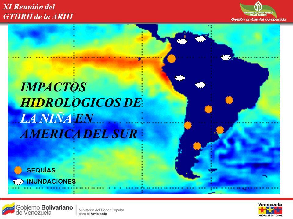 IMPACTOS HIDROLOGICOS DE LA NIÑA EN AMERICA DEL SUR