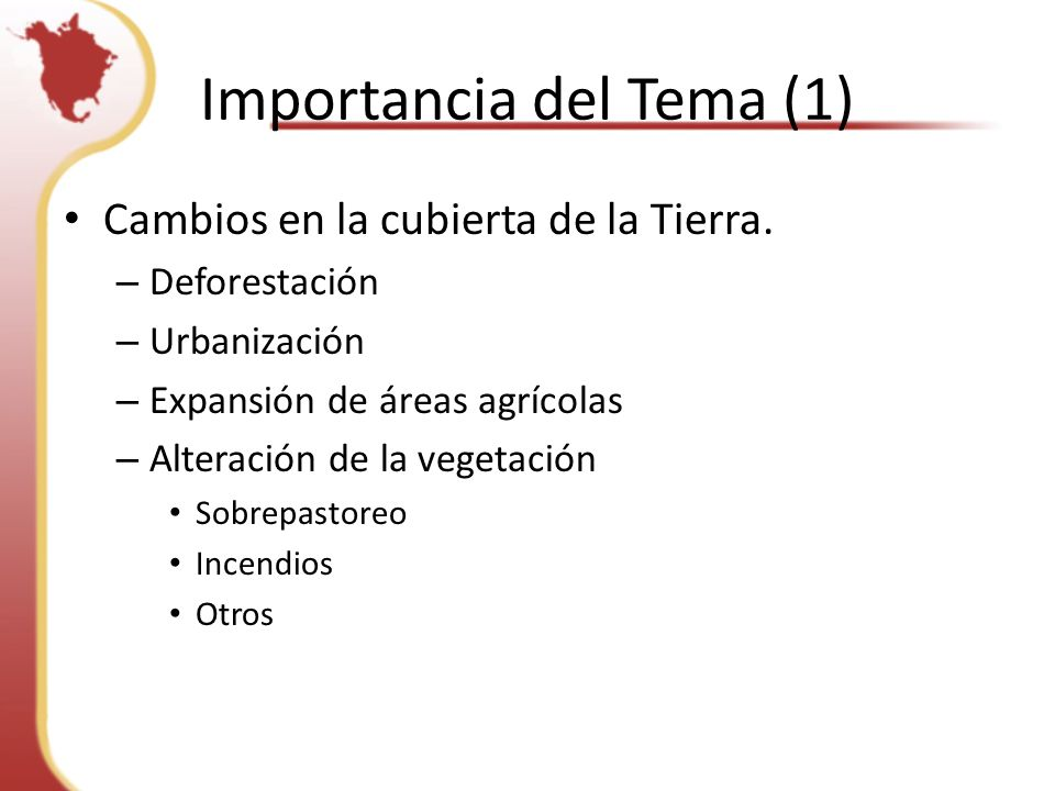 Importancia del Tema (1)