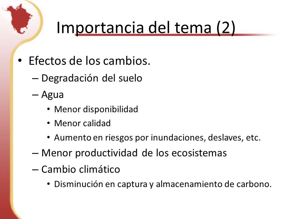 Importancia del tema (2)