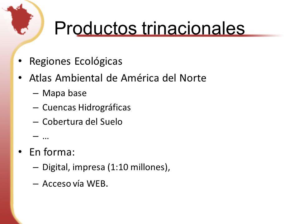 Productos trinacionales