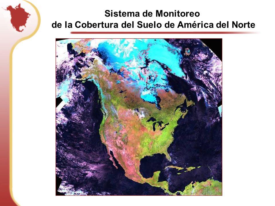 de la Cobertura del Suelo de América del Norte