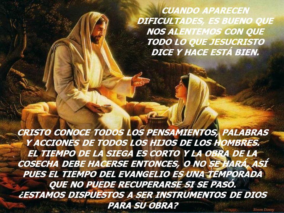 ¿ESTAMOS DISPUESTOS A SER INSTRUMENTOS DE DIOS PARA SU OBRA