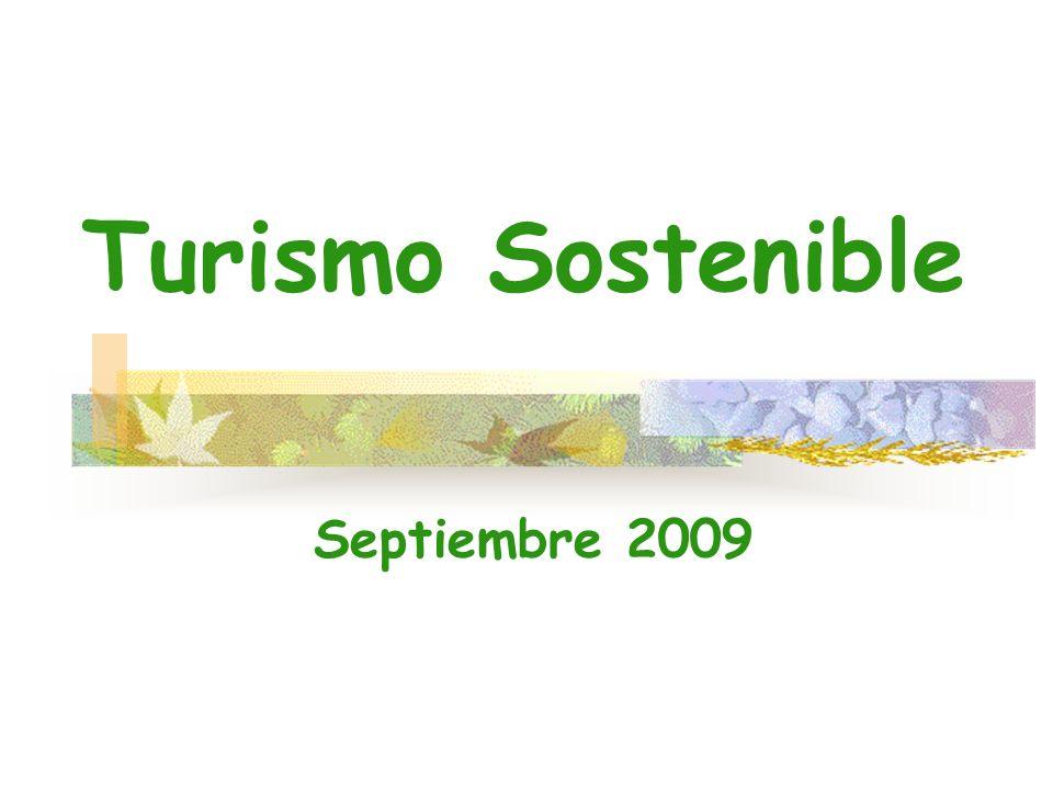 Turismo Sostenible Septiembre 2009