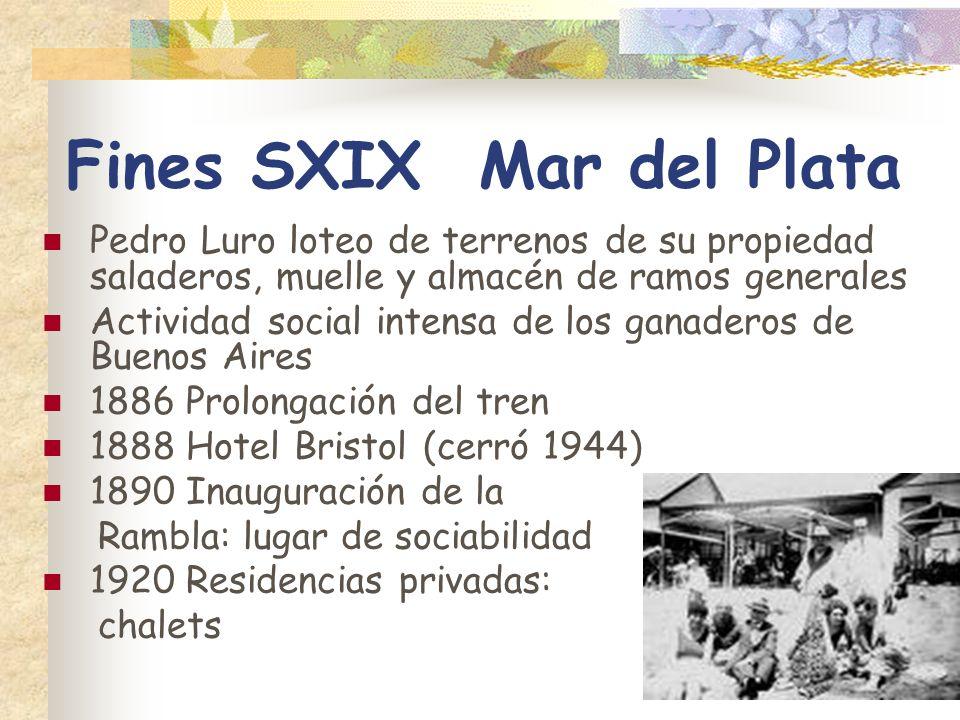 Fines SXIX Mar del Plata