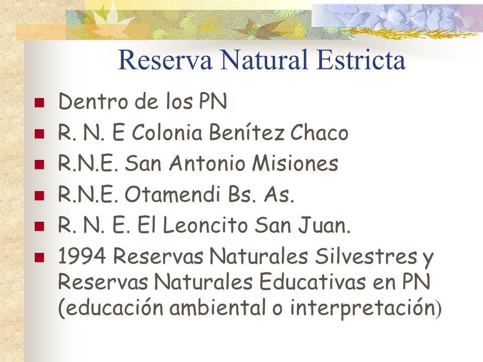 Reserva Natural Estricta