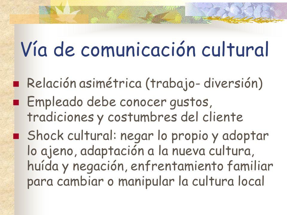 Vía de comunicación cultural