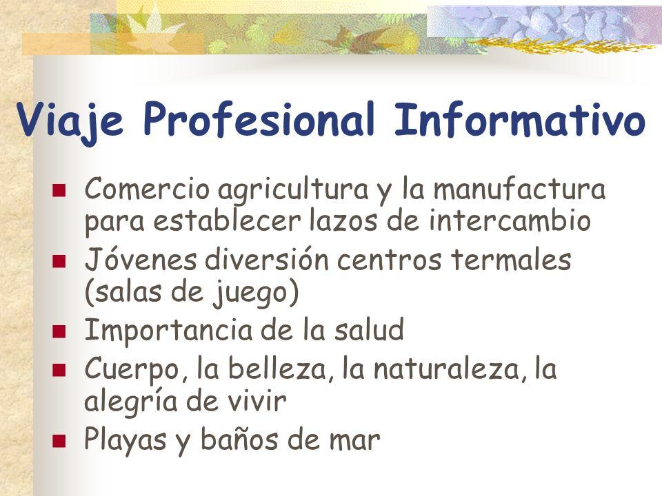 Viaje Profesional Informativo