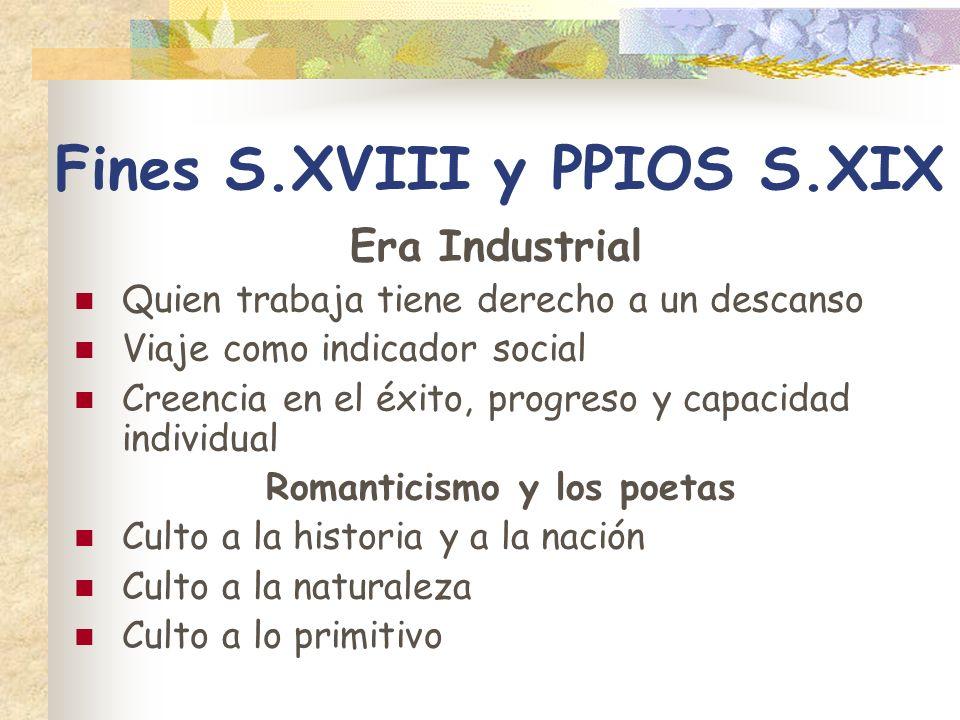 Fines S.XVIII y PPIOS S.XIX
