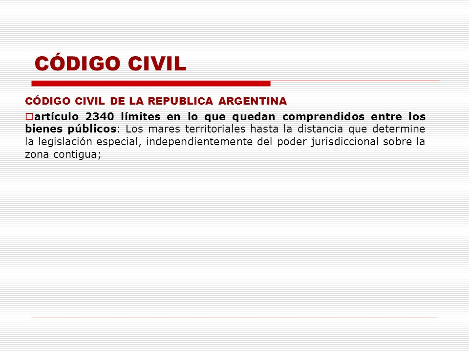 CÓDIGO CIVIL CÓDIGO CIVIL DE LA REPUBLICA ARGENTINA