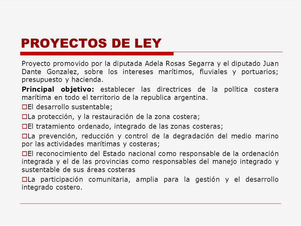 PROYECTOS DE LEY