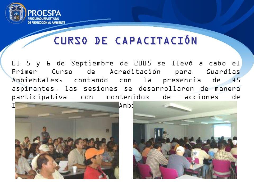 CURSO DE CAPACITACIÓN