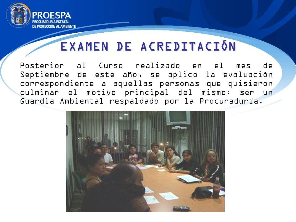 EXAMEN DE ACREDITACIÓN