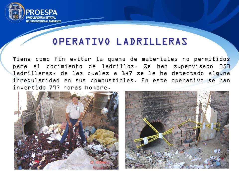 OPERATIVO LADRILLERAS