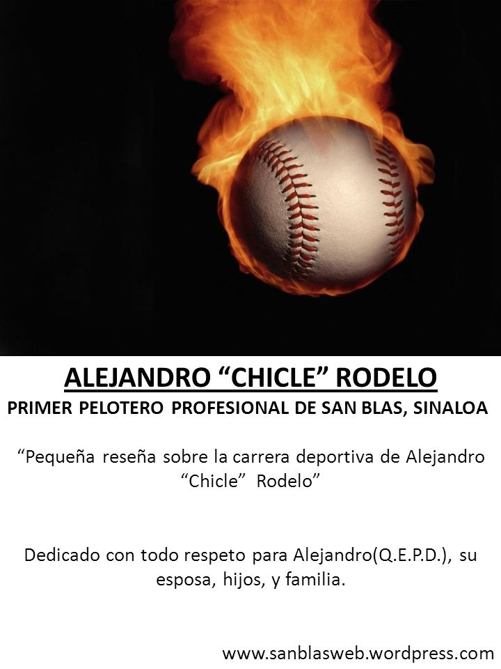 ALEJANDRO CHICLE RODELO