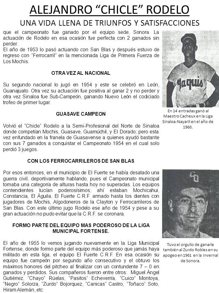 CON LOS FERROCARRILEROS DE SAN BLAS