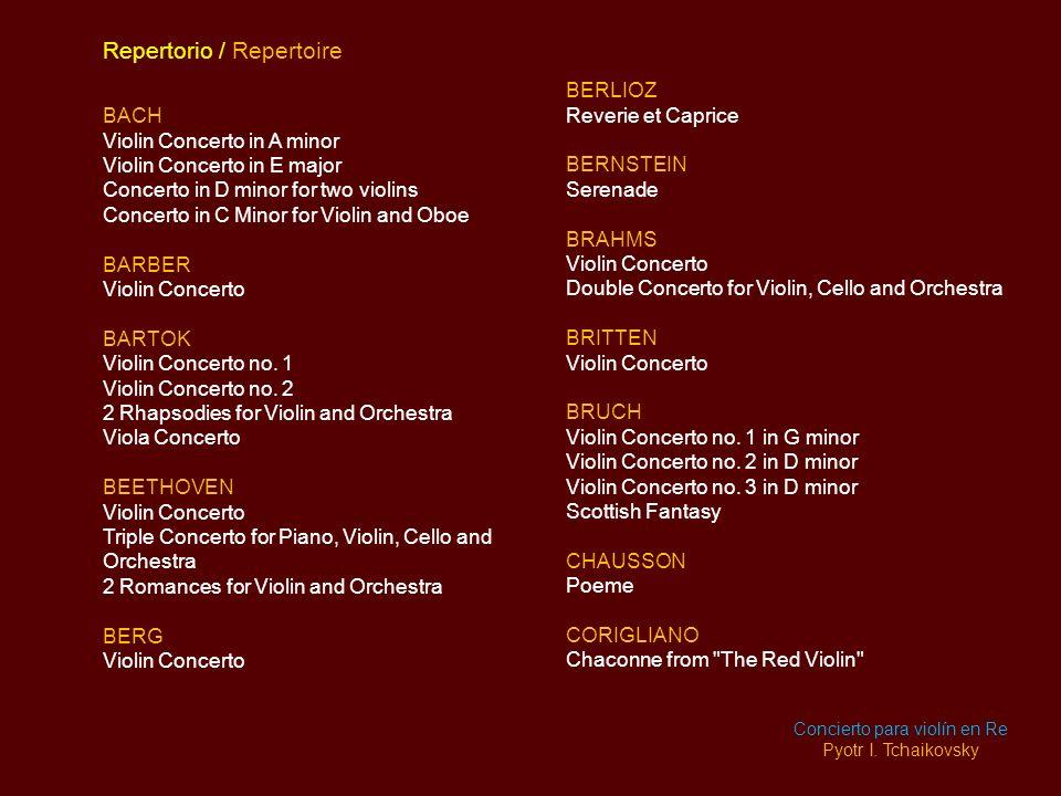 Concierto para violín en Re
