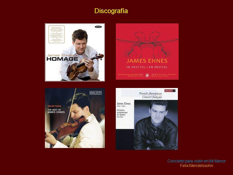 Concierto para violín en Mi Menor