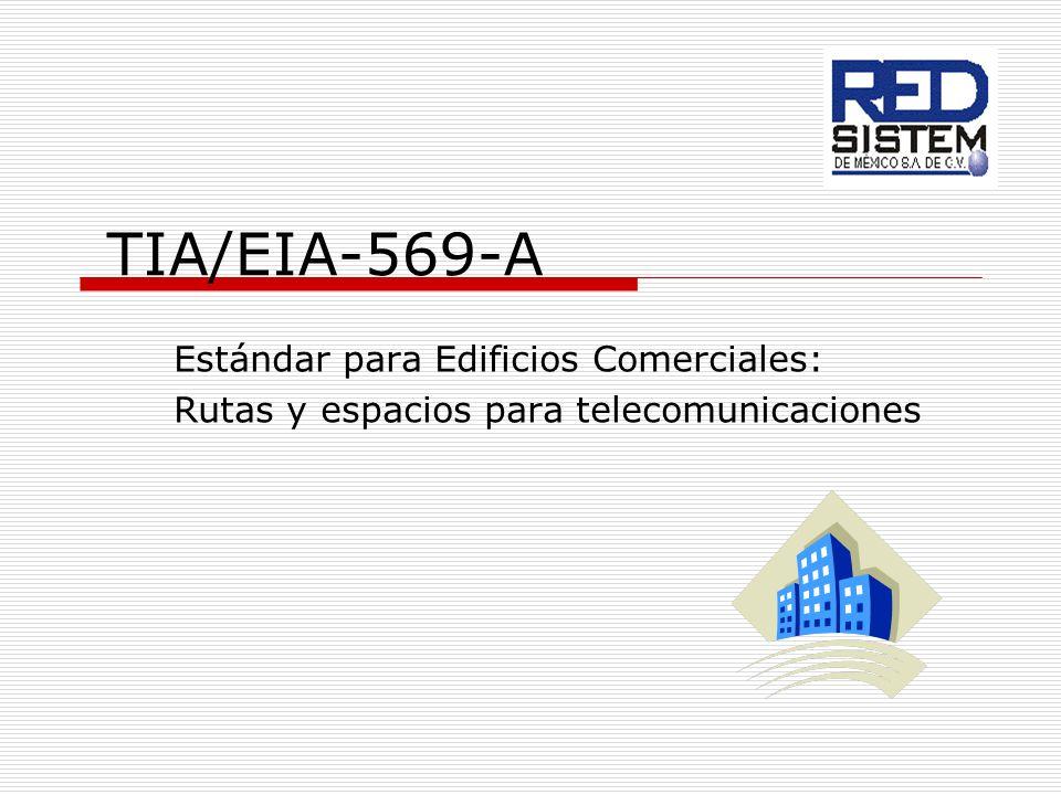 TIA/EIA-569-A Estándar para Edificios Comerciales: