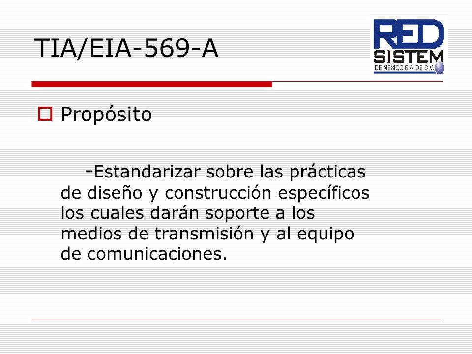 TIA/EIA-569-A Propósito.