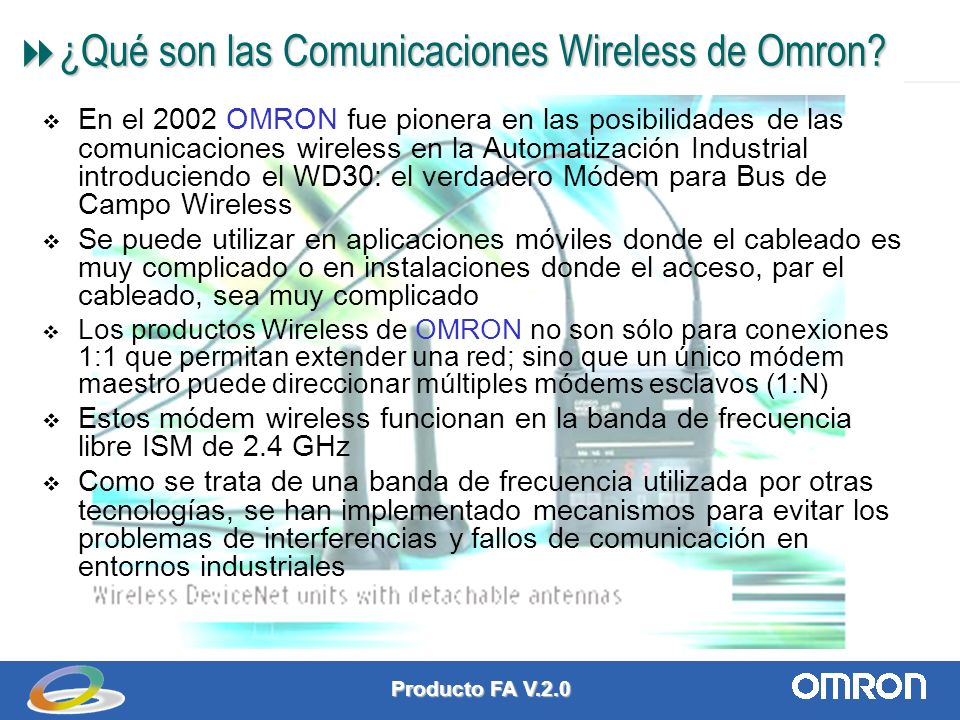¿Qué son las Comunicaciones Wireless de Omron