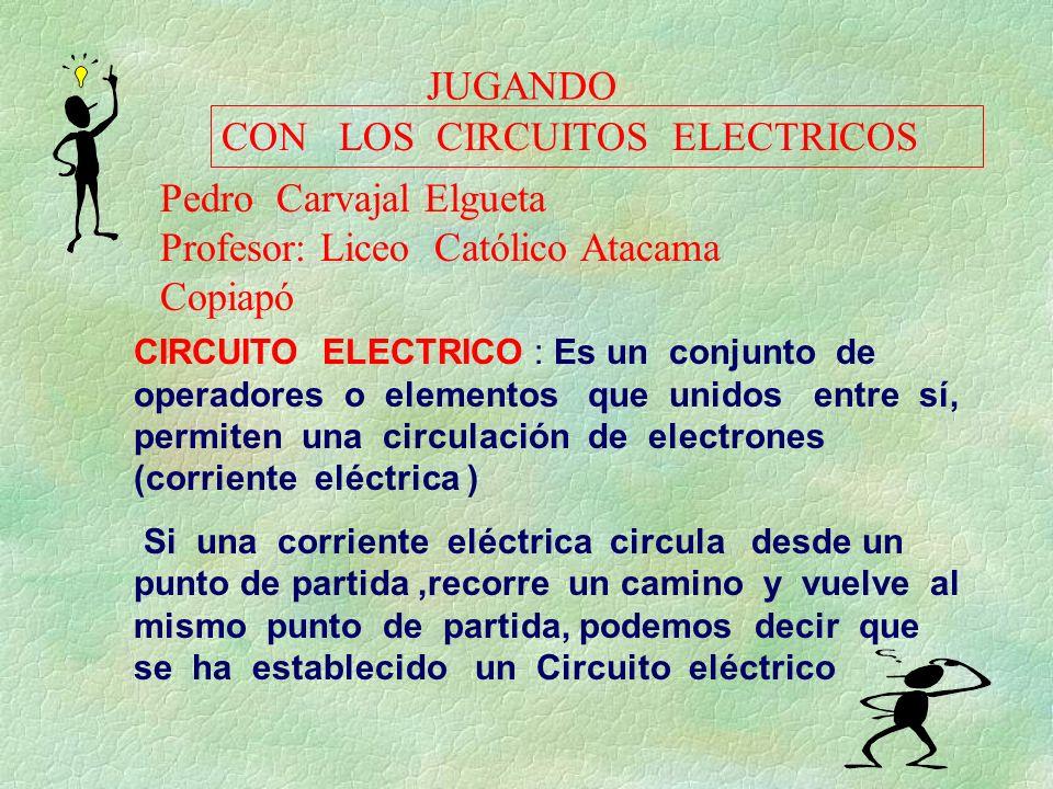 CON LOS CIRCUITOS ELECTRICOS